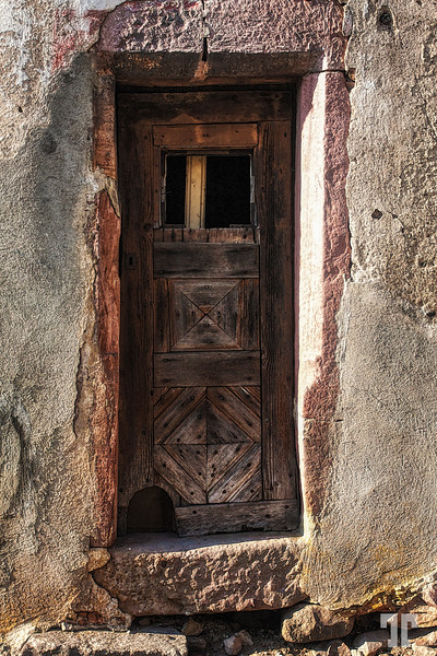 Door in Alsace