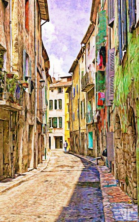 narrow-street-provence-2-paint