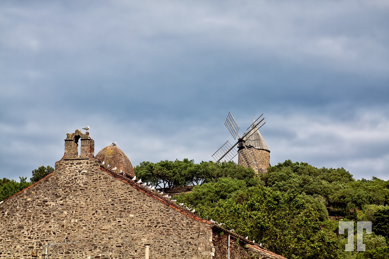 Windmill in Provence, France