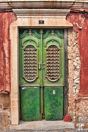 Old door - Paderne, Portugal