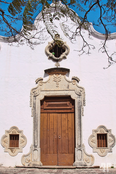 Convent door in Silver, Portugal