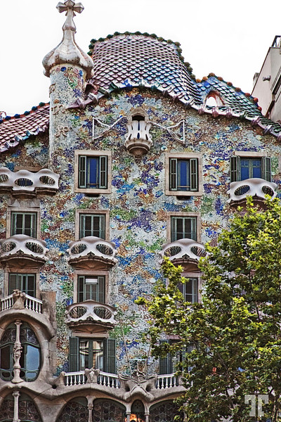 Gaudi Ornamental Architecture