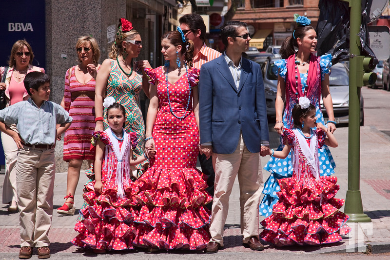 Mayday in Andalucia -  traditional Spanish style fashion