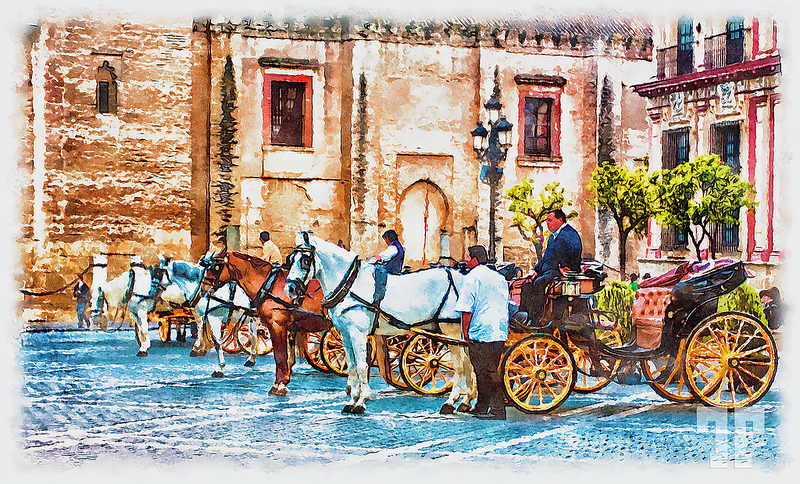 horse-drown-chariots-seville-spain-art-height-7000px-gigapixel