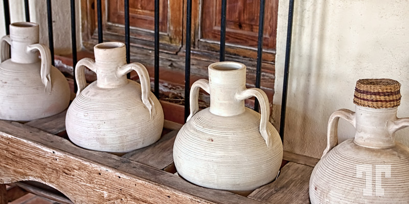 Spanish clay pots