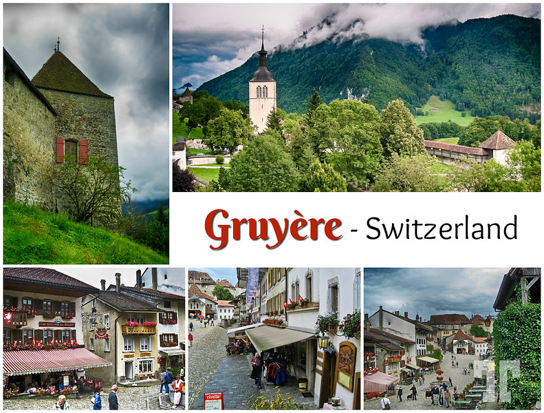 Gruyère, Switzerland Postcard