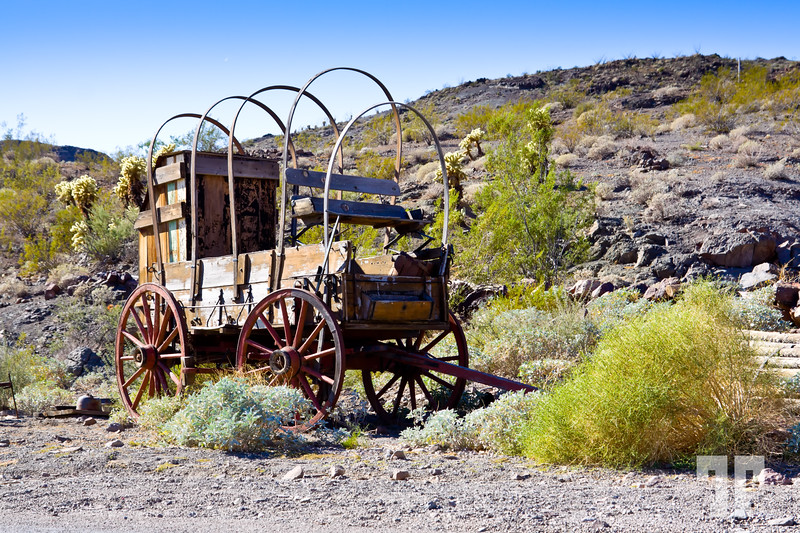 Wild West Wagon on Route 66 Arizona