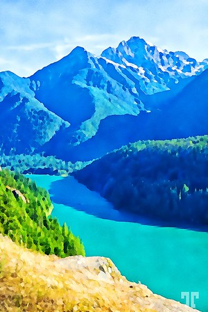 diablo-lake-cascades-washington-5-digital-paint