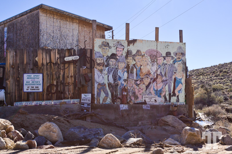 Welcome to Chloride an historic living ghost town on the Route 66 area (quite close to Las Vegas)