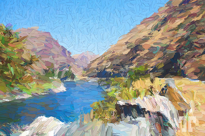 salmon-river-lucile-idaho-2-painting
