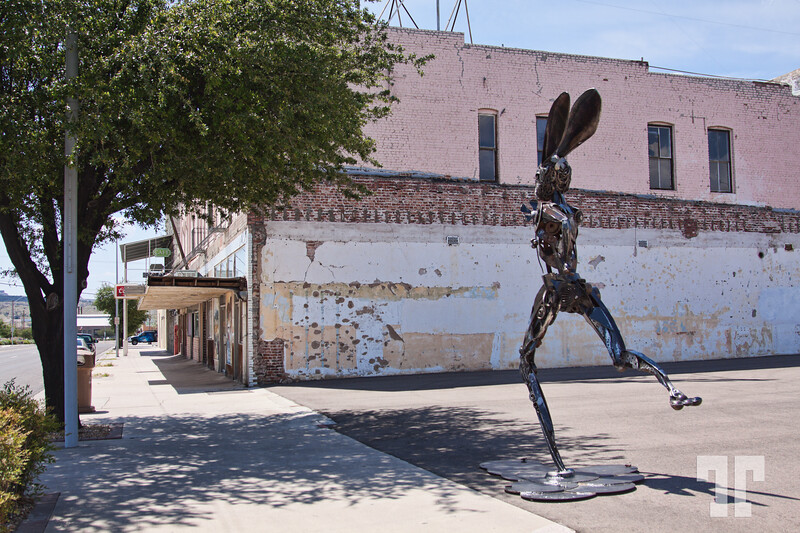 rabbit-sculpture-kingman-arizona