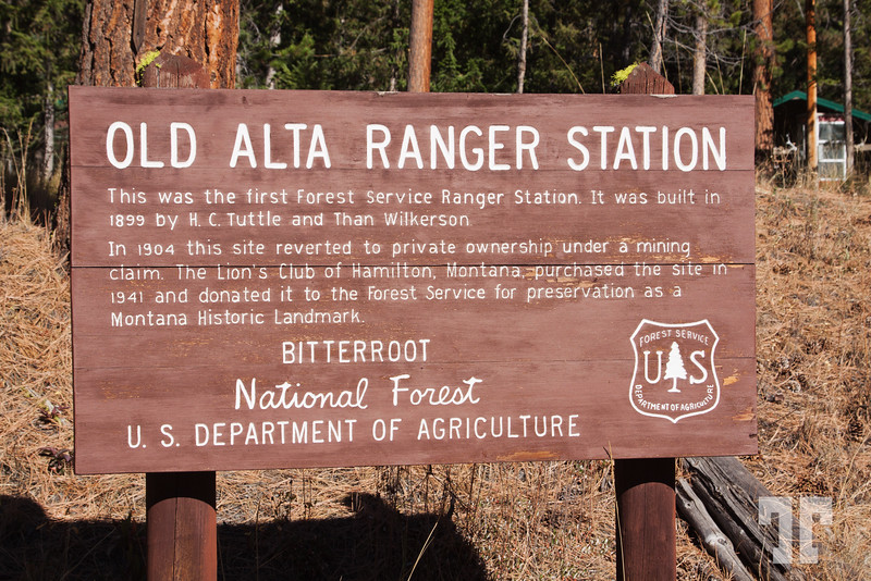 Old Alta Ranger Station - National Forest