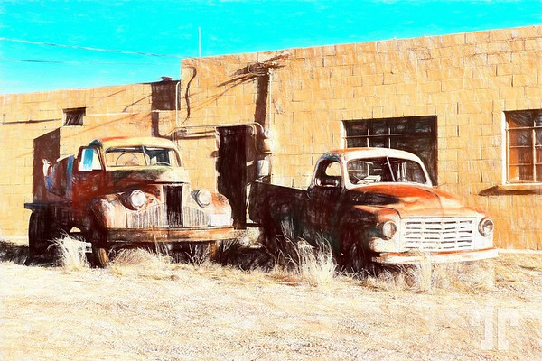 Carrizozo, New Mexico, Old trucks