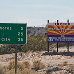 route66-topock-aizona,-welcome-sign