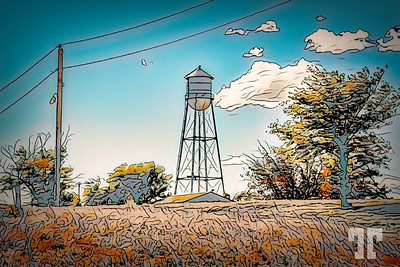 quinn-town-water-tower-s dakot-LU-studio