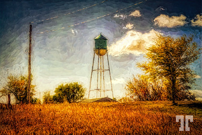 quinn-town-water-tower-s dakot-LU-studio-PAINTING