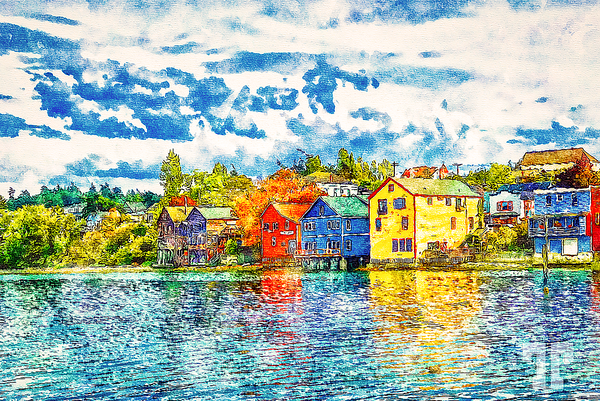 coupeville-washington-watefront-watercolor
