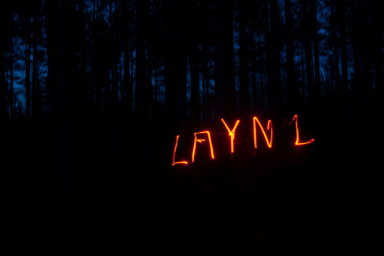 He almost finished spelling his first name (LAYNE) before the 15 seconds was up