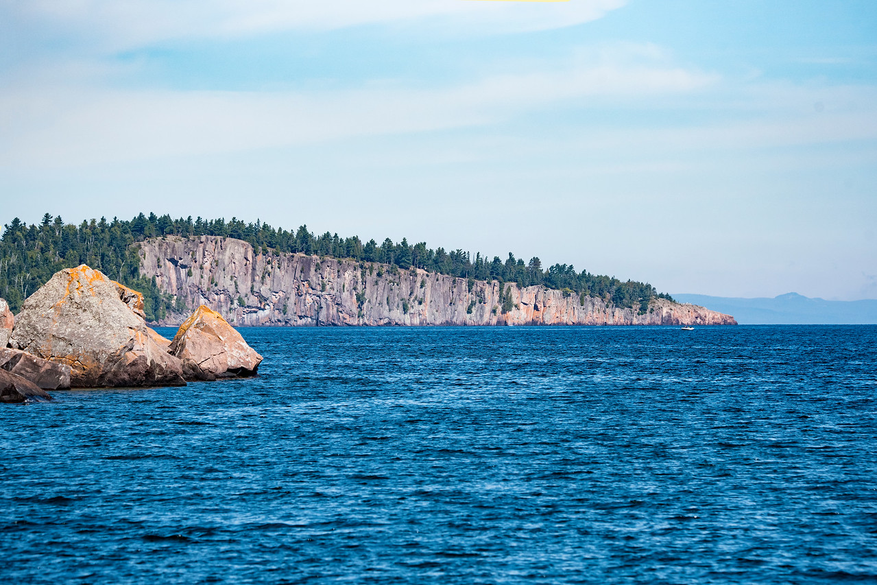 Shovel Point is another well-known landmark along the North Shore.  It is part of Tettegouche State Park.  There is a hiking trail that takes you out to the end of Shovel Point.