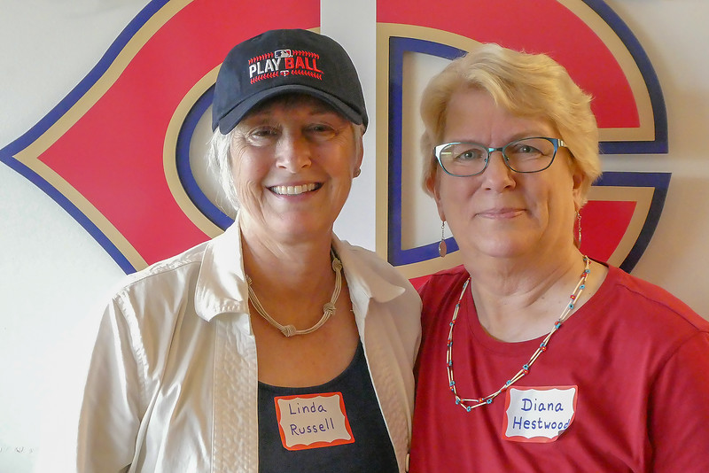 "A great big ""thank you"" to Diana and her friend Linda Russel for all the work they did in planning the party and making sure everything went smoothly.  A great time was had by all and the Twins won, 2-0!"