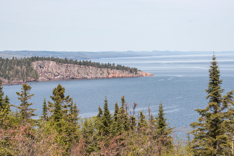 Just to prove that I do sometimes take scenery shots, here's a view of Shovel Point along the North Shore as seen from Palisade Head in Lake County.