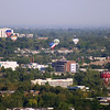View of Boise on the morning of Sept 4, 2010