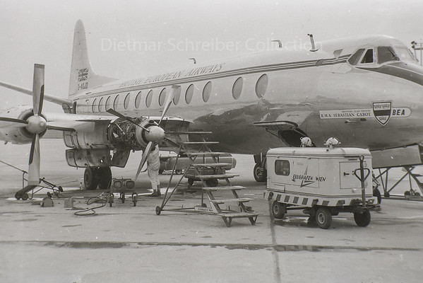 1960-08-22 G-ADJD Viscount British European AIrlines