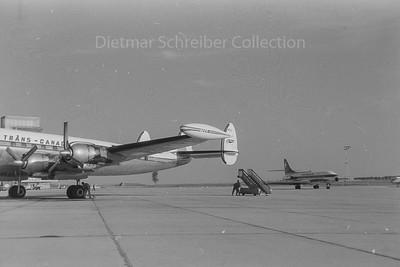 1960-08-20 CF-TGC Constellation Trans Canada Airlines