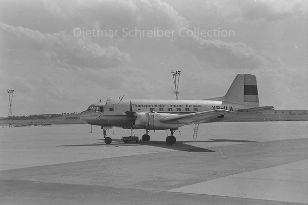 1960-08-17 YR-ILA Ilyushin 14 Tarom