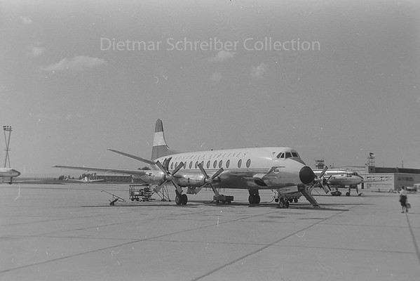 1960-08-17 OE-LAG Vickers Viscount Austrian Airlines