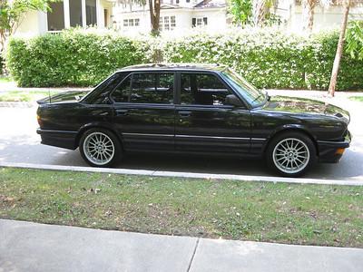 1987 BMW 535i M-Tec
