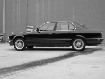 1988 E32 5 speed 735i Black