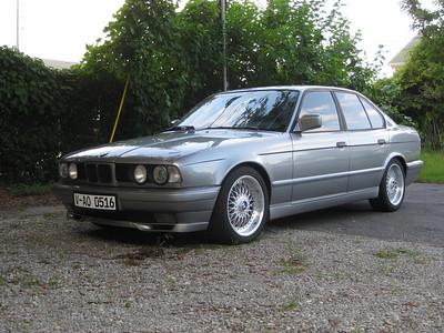 1989 E34 Silver