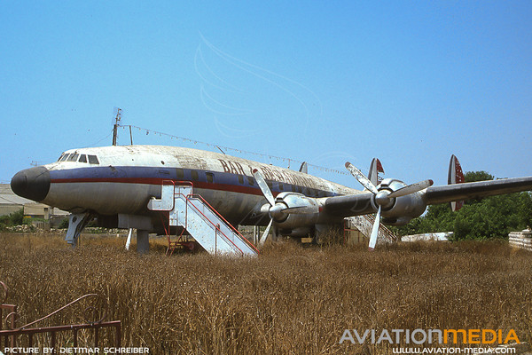 1991-07 5T-TAF Lockheed Constellation