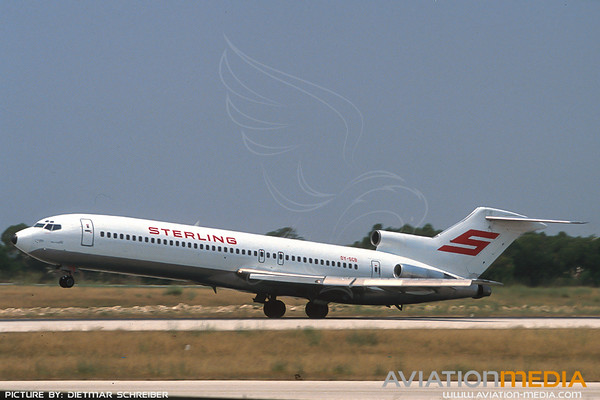 1991-07 OY-SCB Boeing 727-200 Sterling