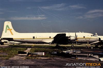 1991-09 N92BL Douglas DC6 Aerial Transit