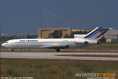 1991-07 F-GCDE Boeing 727-200 Air France