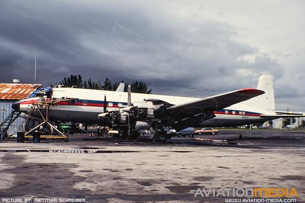 1991-09 N1097 Douglas DC7