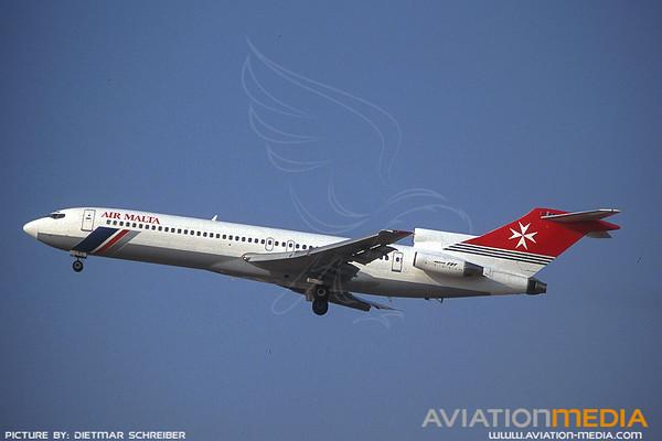 1991-07 YU-AKL Boeing 727-200 Air Malta