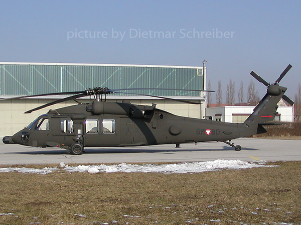 2003-02-15 6M-BD Sikorsky S60 Black Hawk Austrian AIr Force