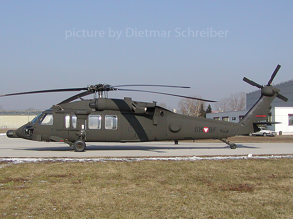 2003-02-15 6M-BF Sikorsky S60 Black Hawk Austrian AIr Force