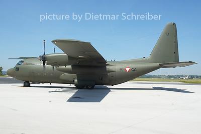 2005-06-03 8T-CC Lockheed C130 Austrian Air Force