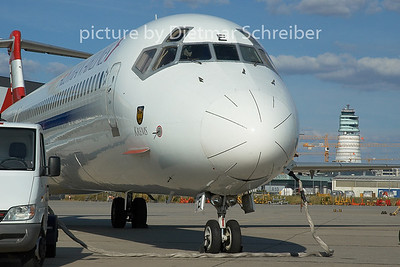 2005-06-19 OE-LME MD80 AUstrian Airlines