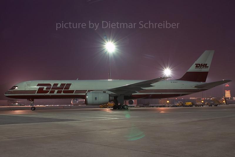 2006-11-21 G-BIKP Boeing 757-200 DHL