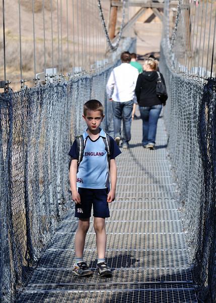 suspension bridge at rosedale