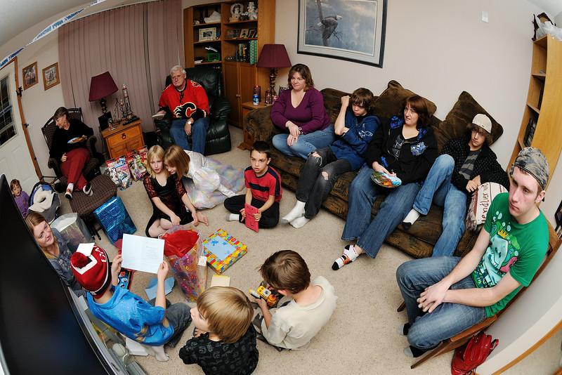 Conor's 8th Birthday party