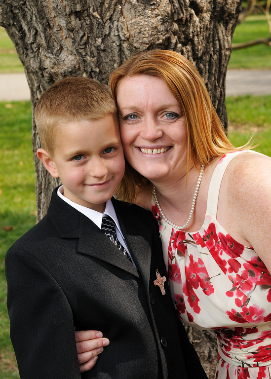 conors first communion day