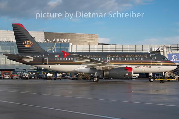 2009-12-31 JY-AYL Airbus A319 Royal Jordanian
