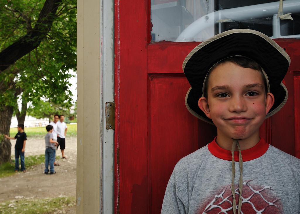 Joshua at Camp