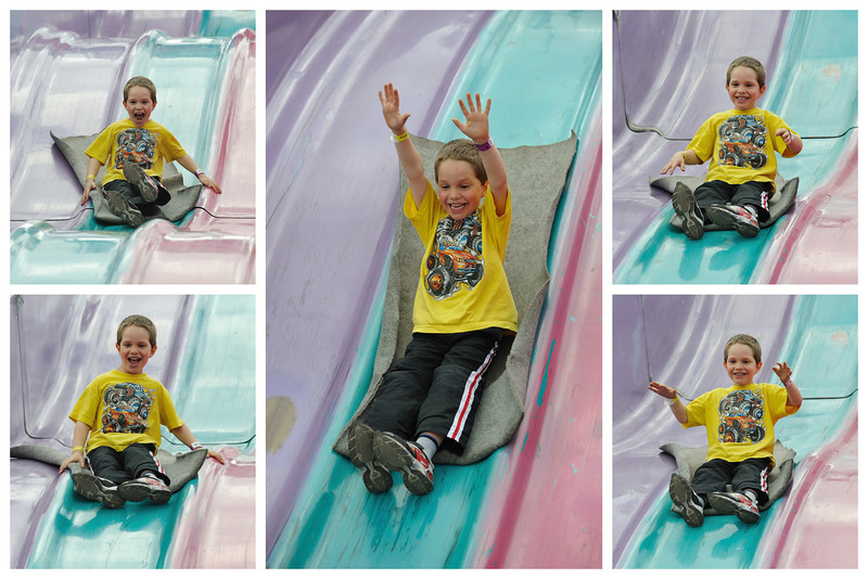 Nate on the slide